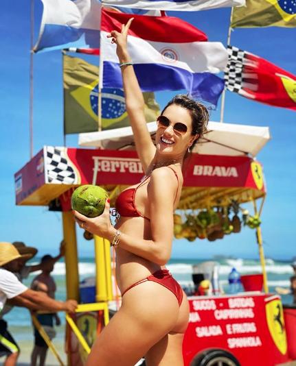 Alessandra Amborisio Bikini Photoshop