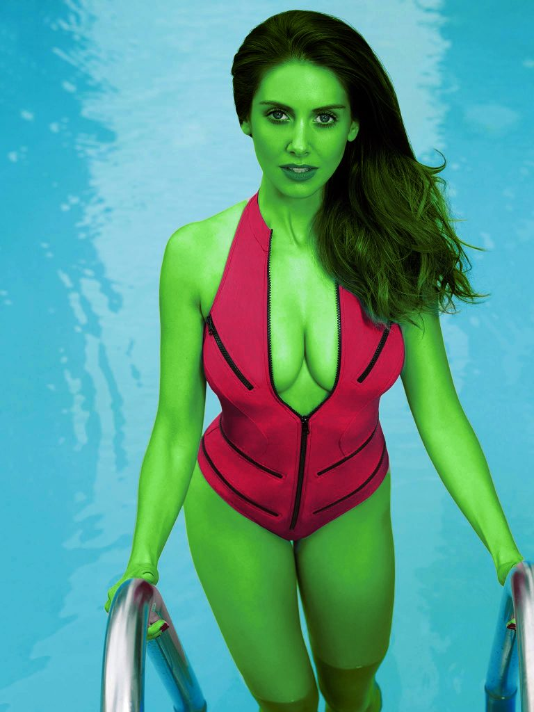 Is Alison Brie the Next She-Hulk?