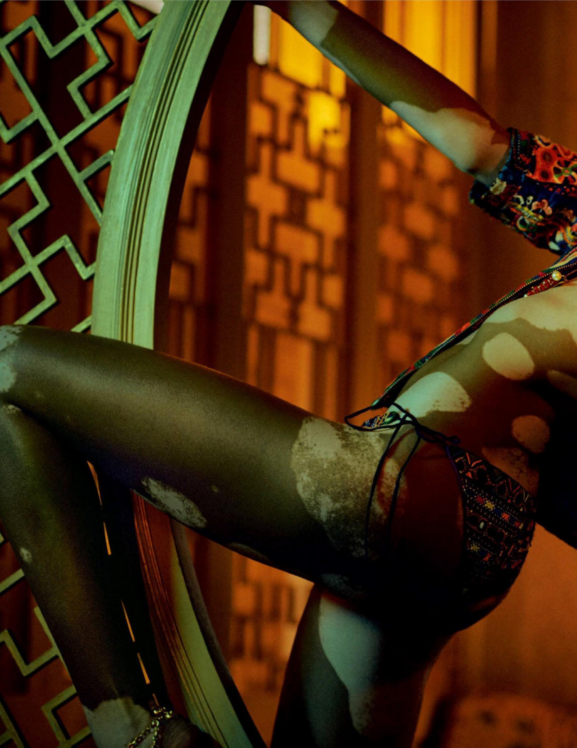 Winnie Harlow Vogue India