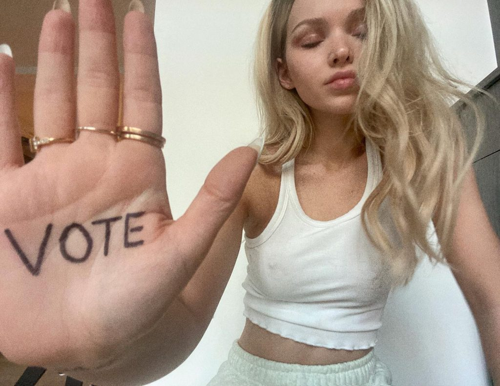 Dove Cameron Wants You to Vote!