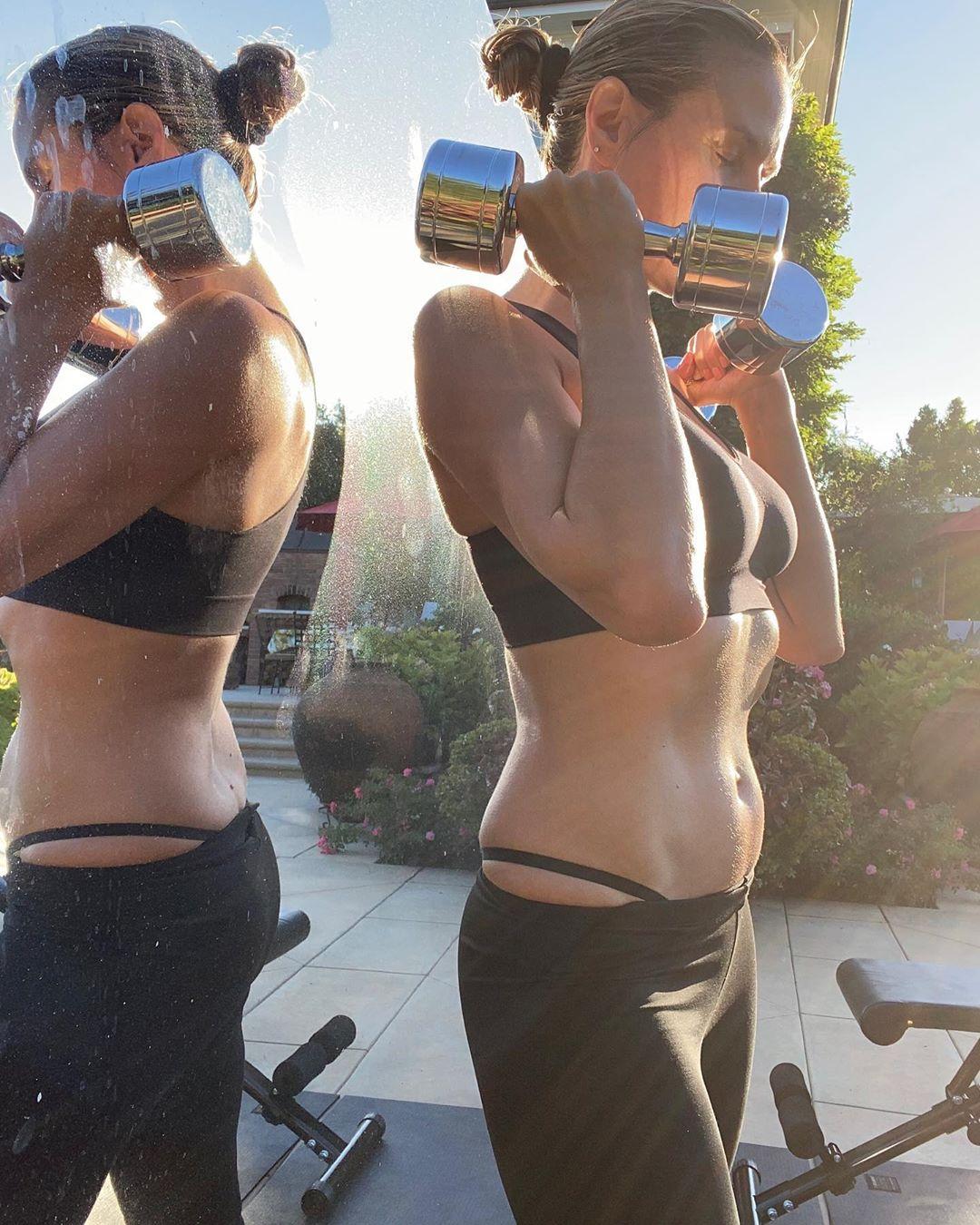 Heidi Klum Fitness