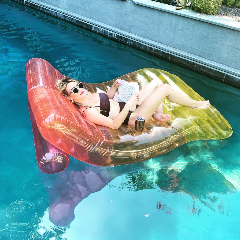 Hilary Duff Floating