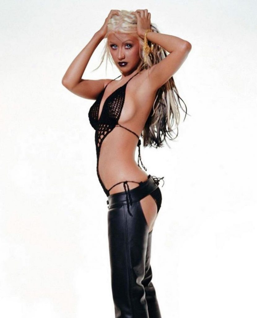 Christina Aguilera Celebrates 18 Years of STRIPPED!