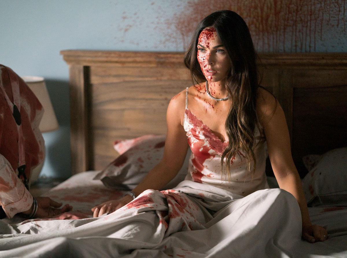 PHOTOS Megan Fox Gets Bloody!