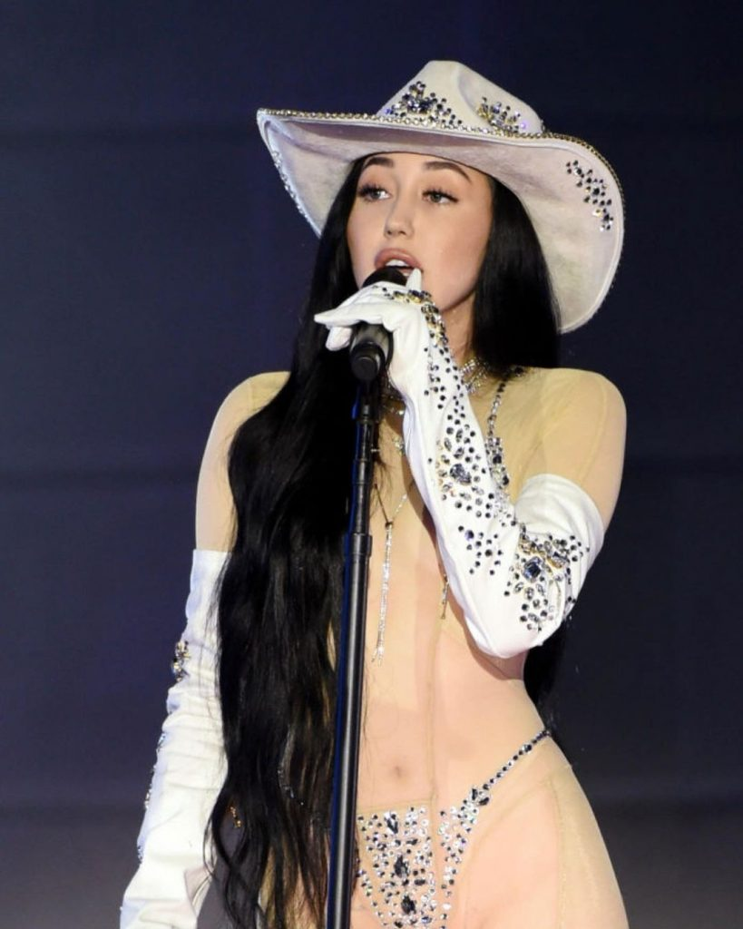 Noah Cyrus Strips Down on Stage!