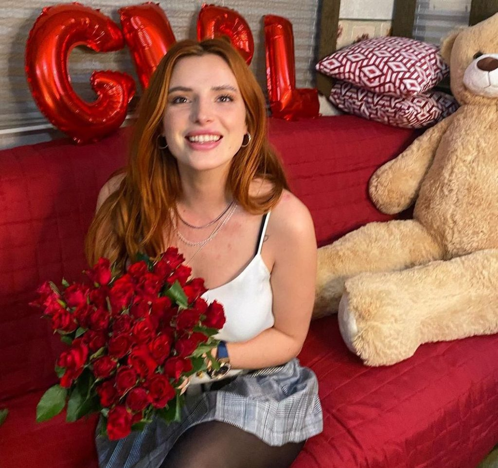 Bella Thorne Celebrates!