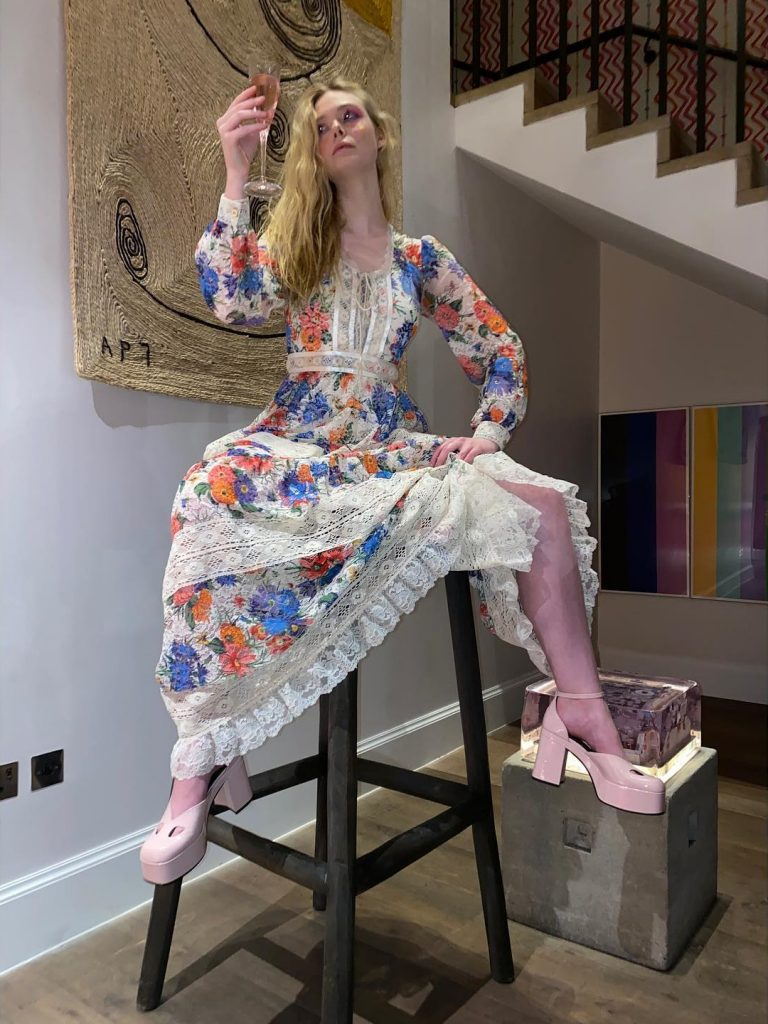 Elle Fanning Gets Weird!