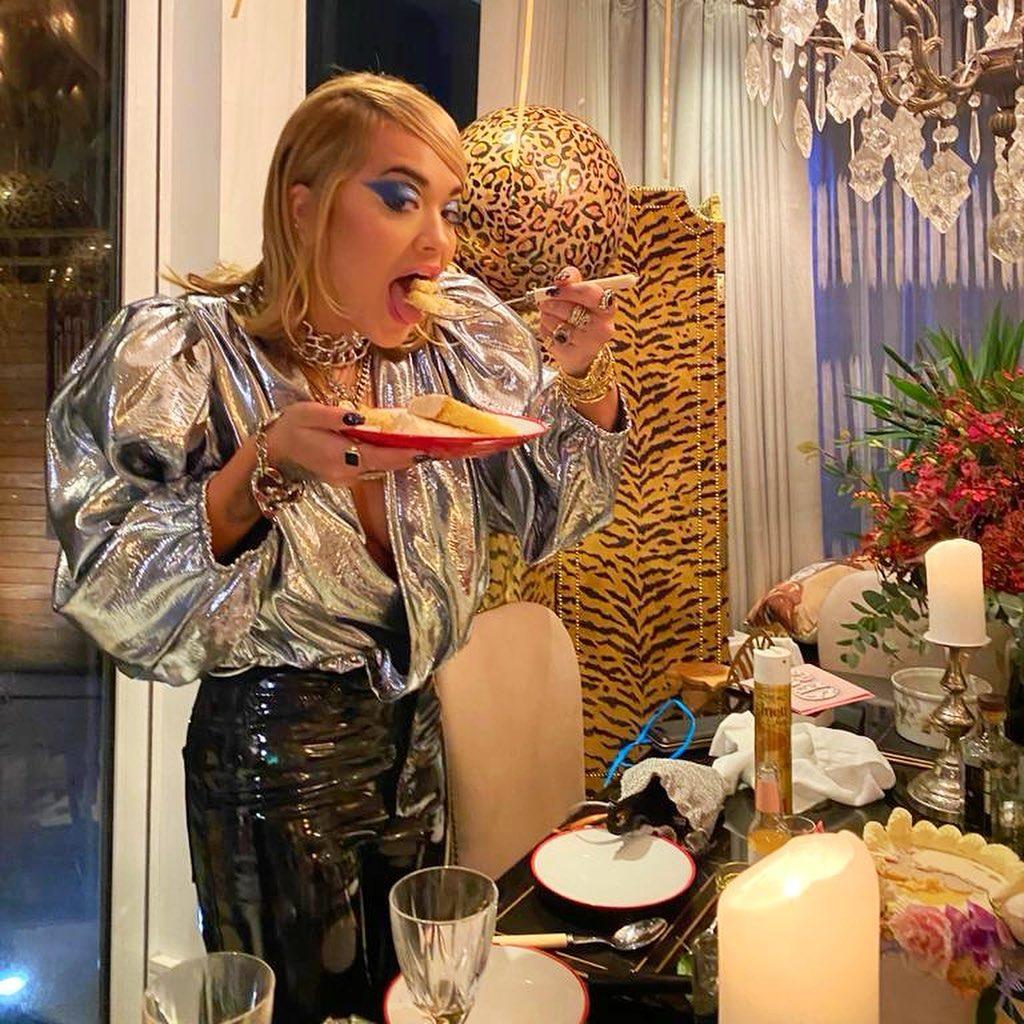 Rita Ora Celebrates!