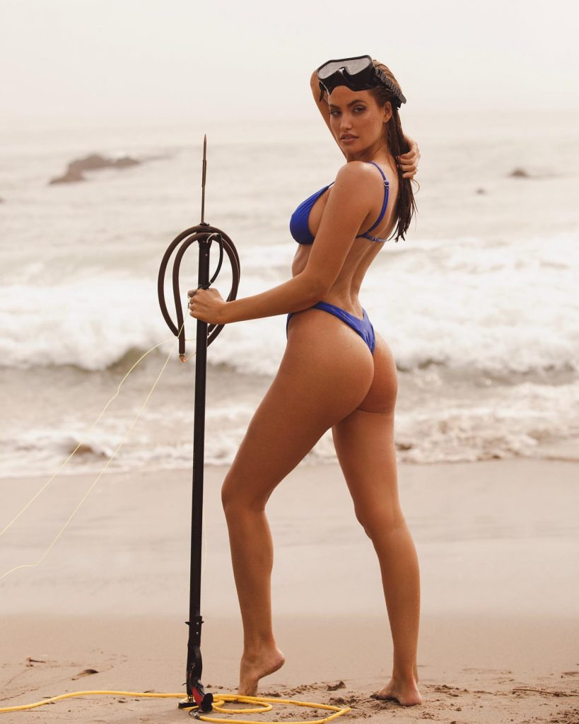 Haley Kalil Is Back on the Beach!