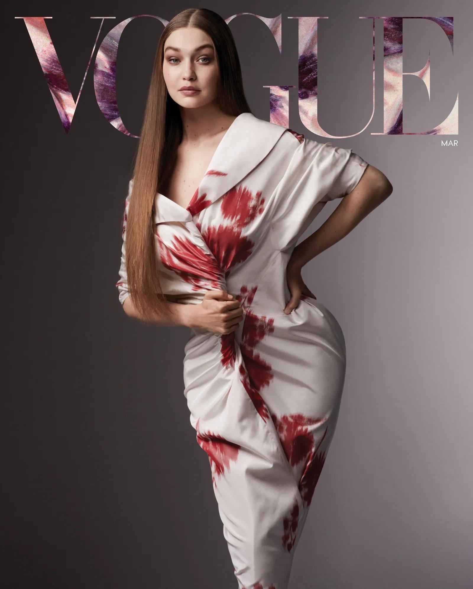 PHOTOS Gigi Hadid est de retour dans Vogue!