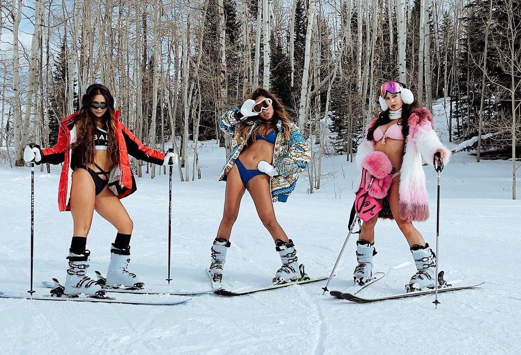 Babes in Bikinis Braving the Snow!.jpg