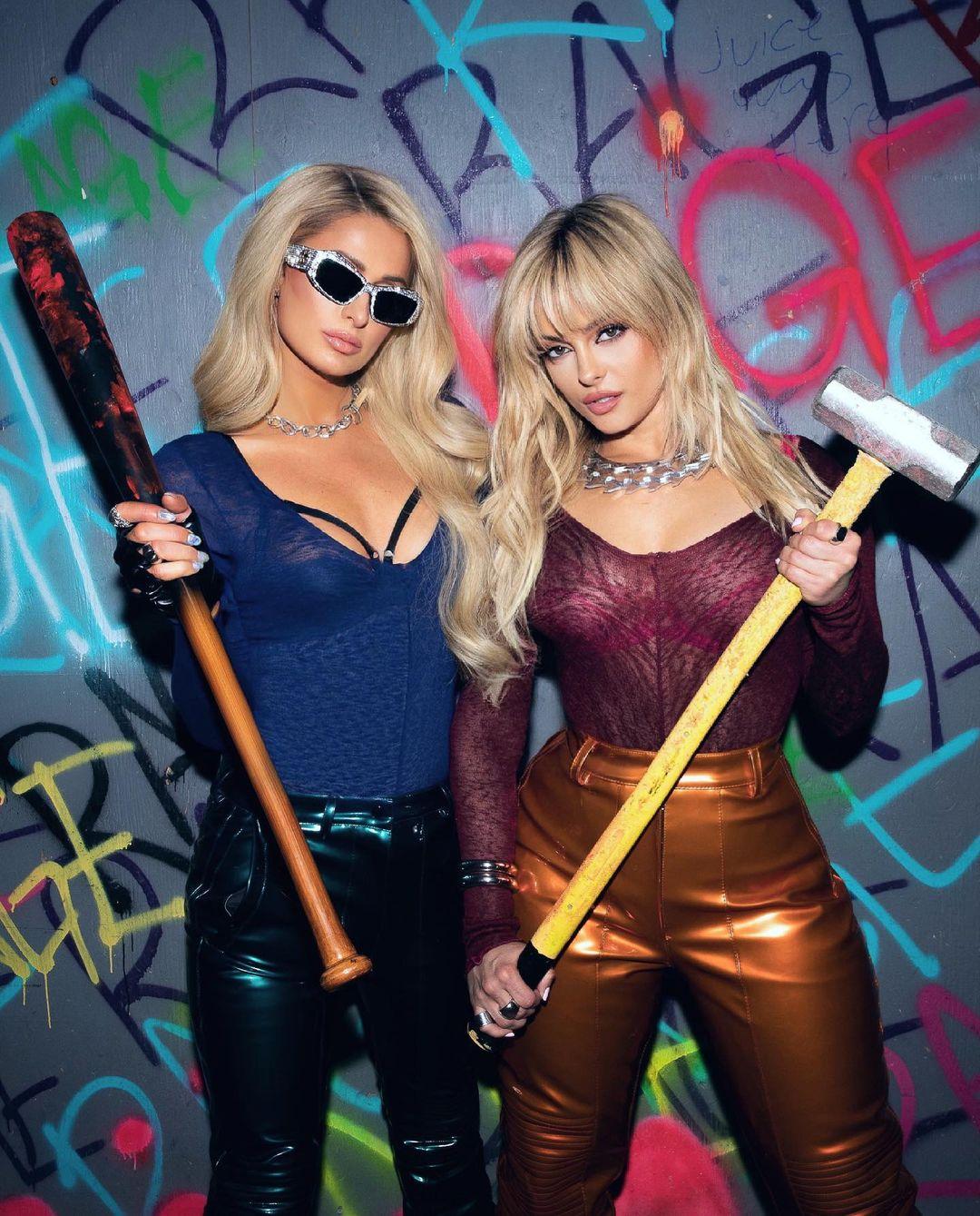 Bebe Rexha and Paris Hilton Break Stuff!.jpg