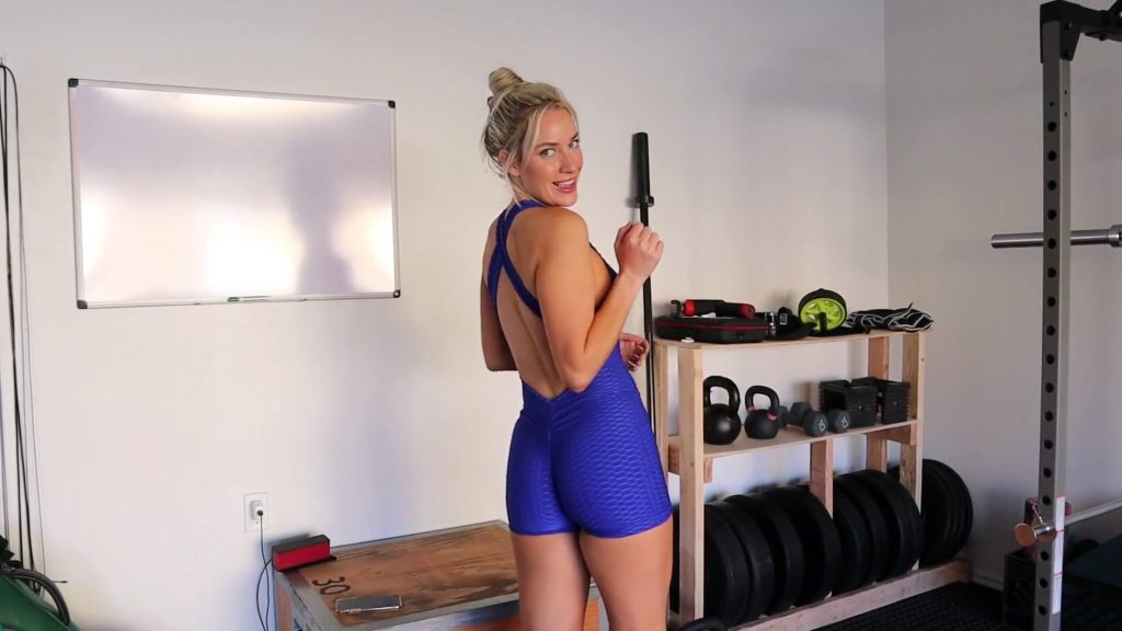 Paige Spiranac Goes Hard On Leg Day!