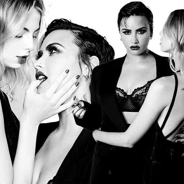 Demi Lovato in Black and White!.jpg