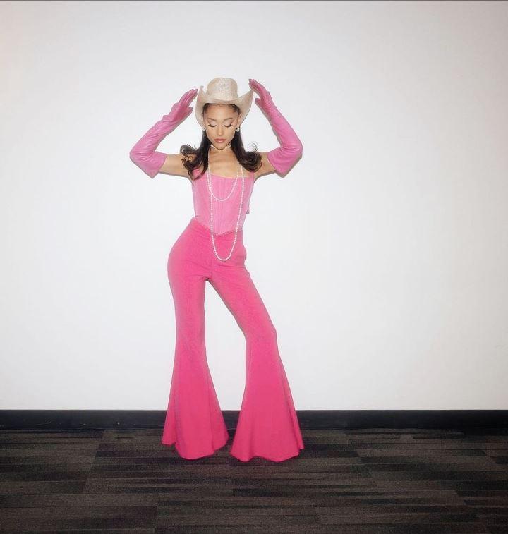 Ariana Grande is Cowgirl Barbie!