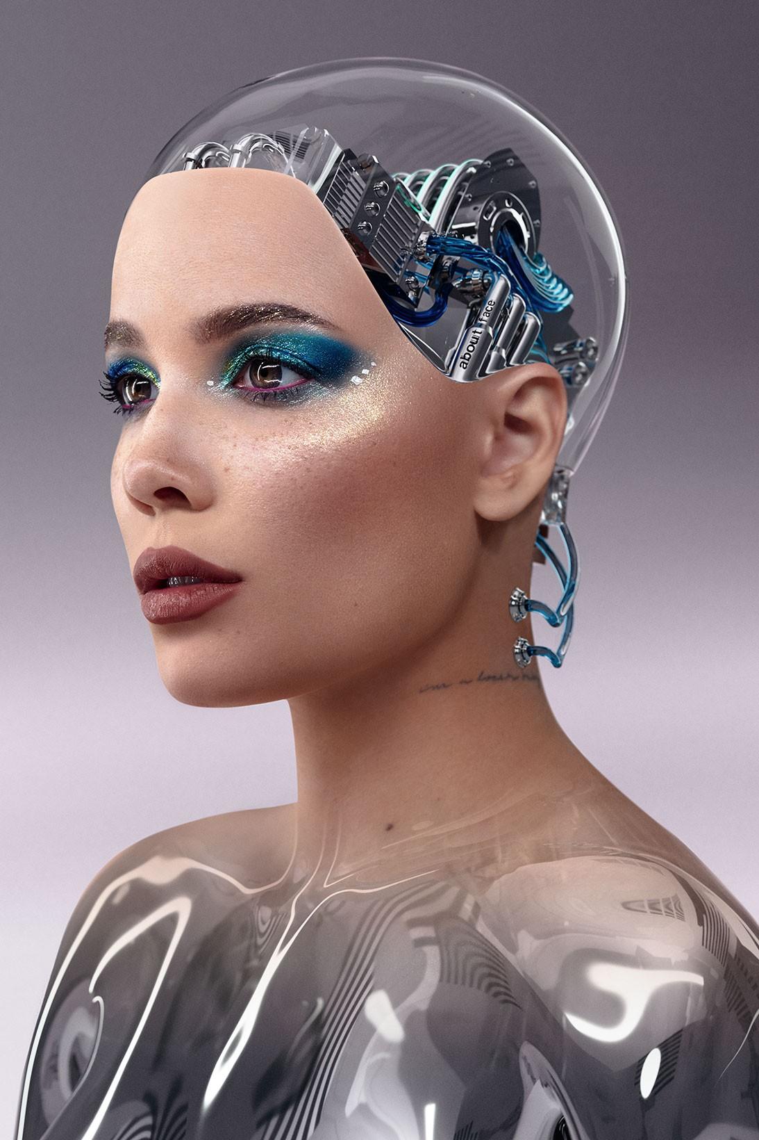 PHOTOS Halsey le Cyborg !