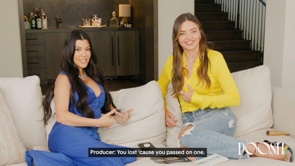 Miranda Kerr and Kourtney Kardashian Play Truth or Dare!