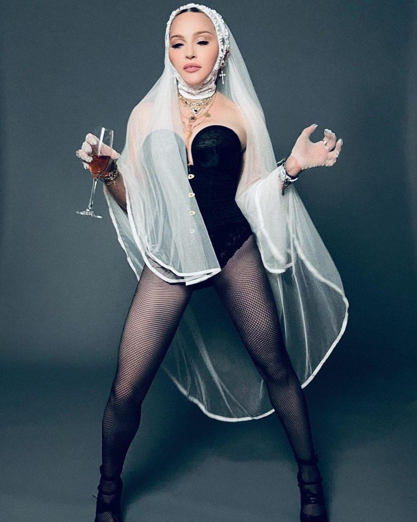 Madonna is The Bride!
