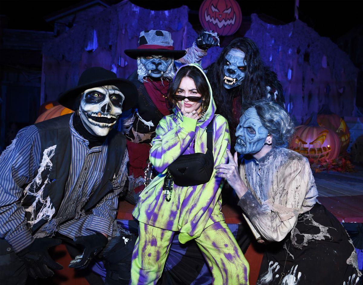 Vanessa Hudgens is Ready for Halloween!