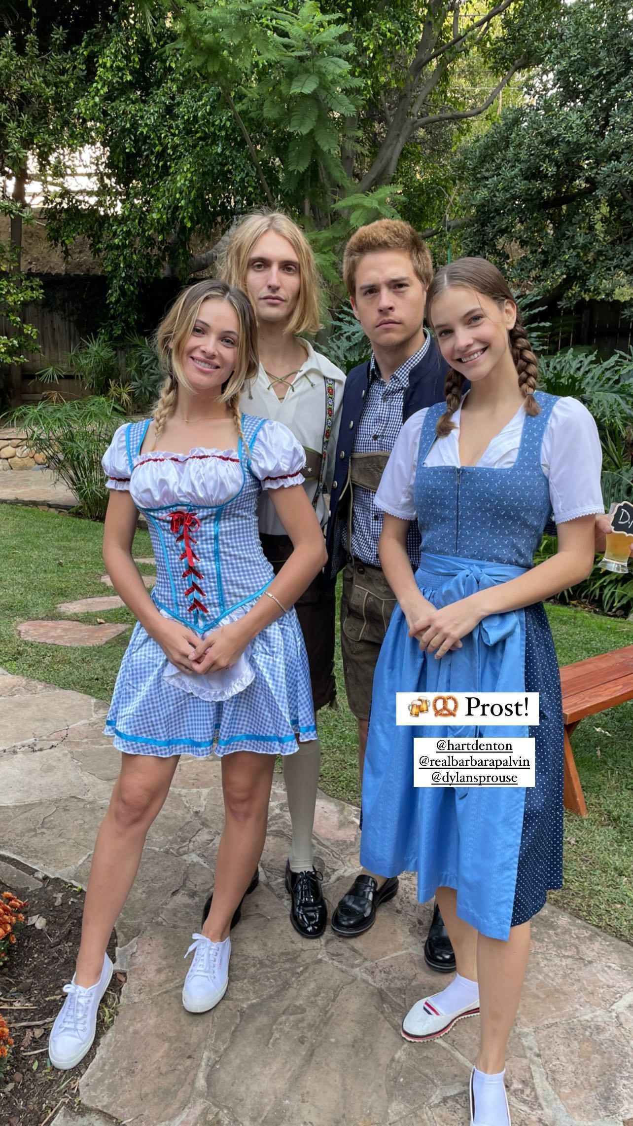 L?anniversaire de Barbara Palvin à l?Oktoberfest! - Photo 5