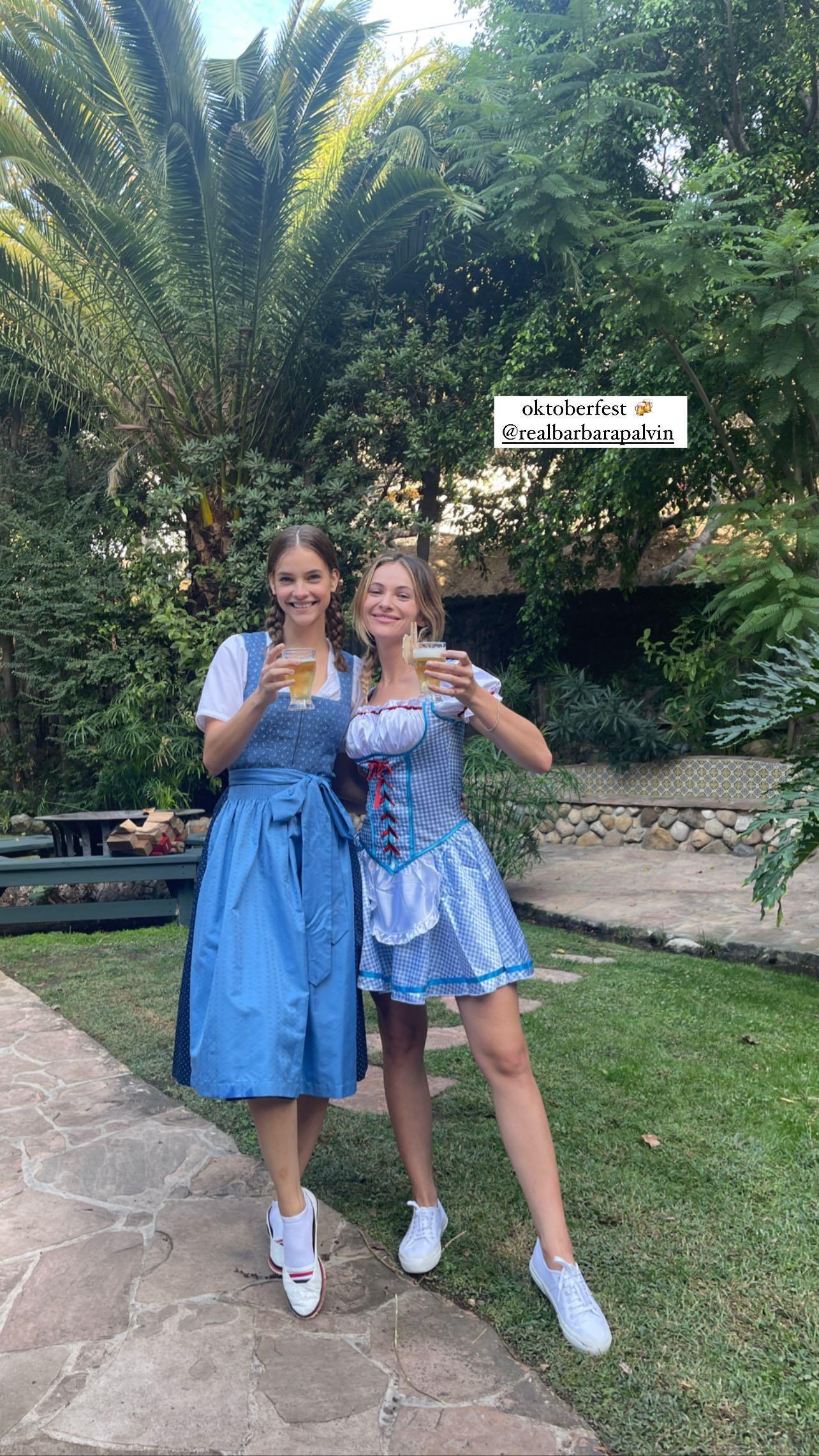 L?anniversaire de Barbara Palvin à l?Oktoberfest! - Photo 4